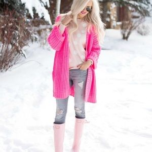 Urban outfitters silence + noise pink sweater